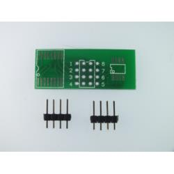 Adapter SOP8 / SO8, MSOP8 / TSSOP8 na DIP8 + piny