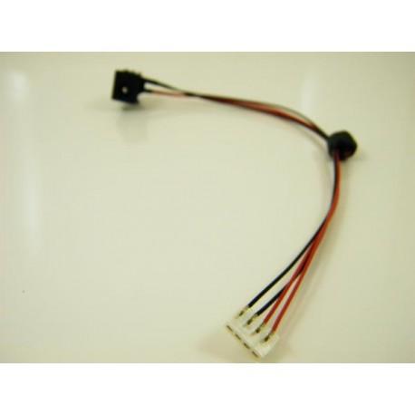 Gniazdo zasilania HY-T0023 Toshiba A200 205 215